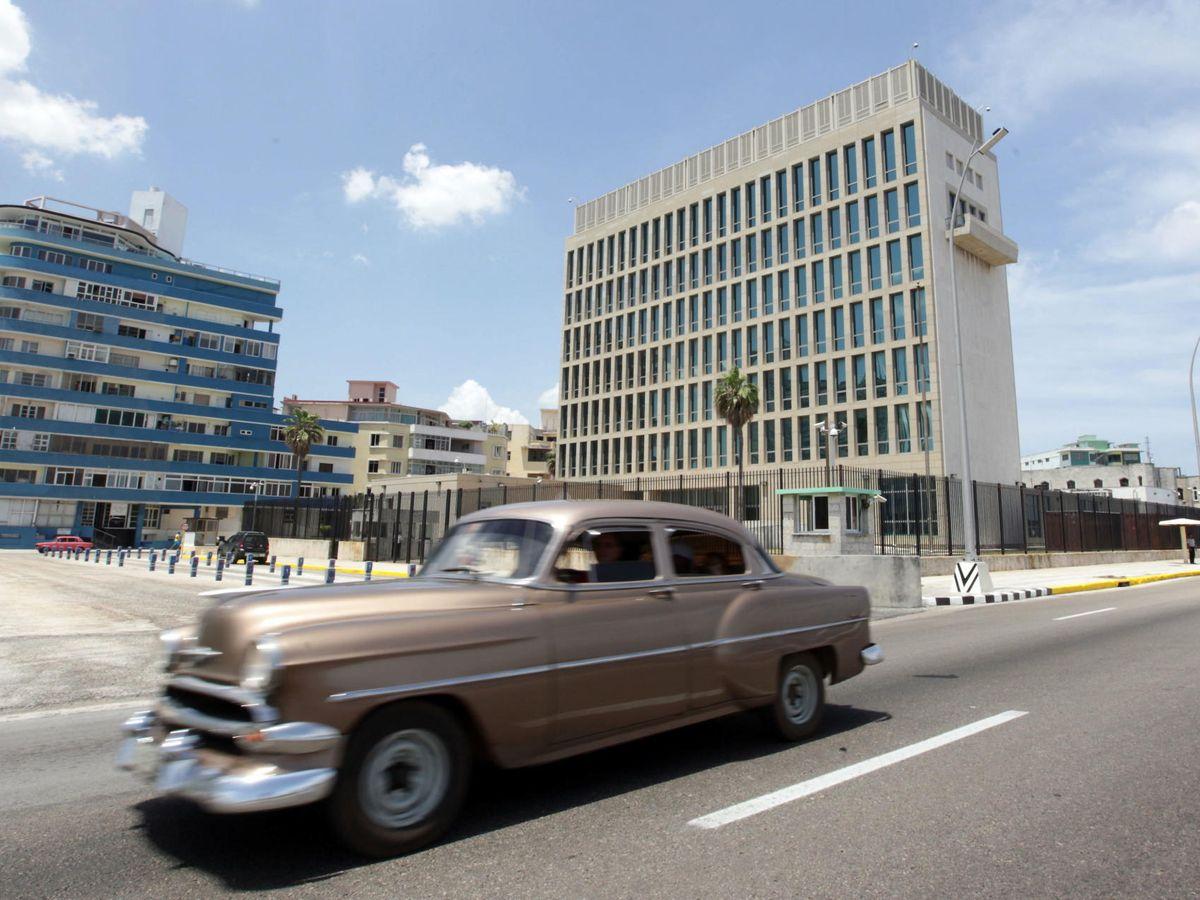Foto: Embajada de EEUU en La Habana. (EFE)