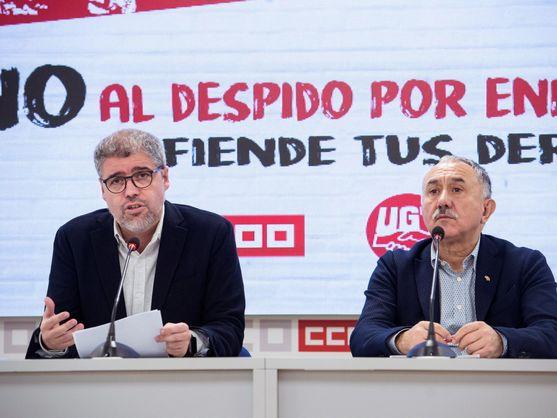Los sindicatos convocan una primavera de movilizaciones para presionar al Gobierno