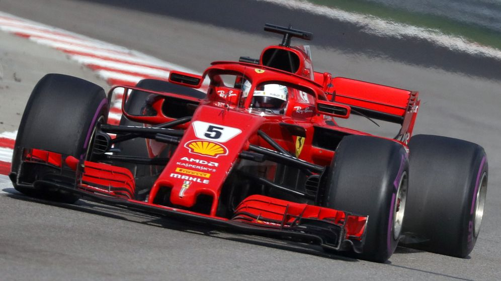Foto: Sebastian Vettel durante el pasado GP de Rusia. (Reuters)