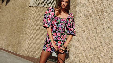El vestido de Zara para seguir llevando flores en otoño e invierno