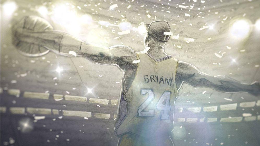 Foto: Fotograma de 'Querido baloncesto', el cortometraje sobre la vida de Kobe Bryant