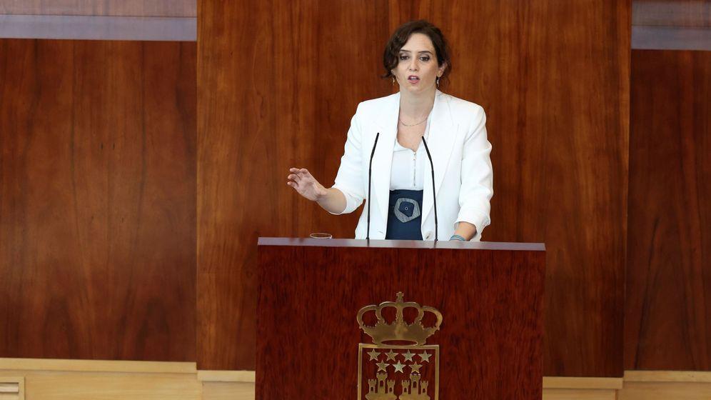 Foto: La presidenta de la CAM, Isabel Díaz Ayuso. (EFE)
