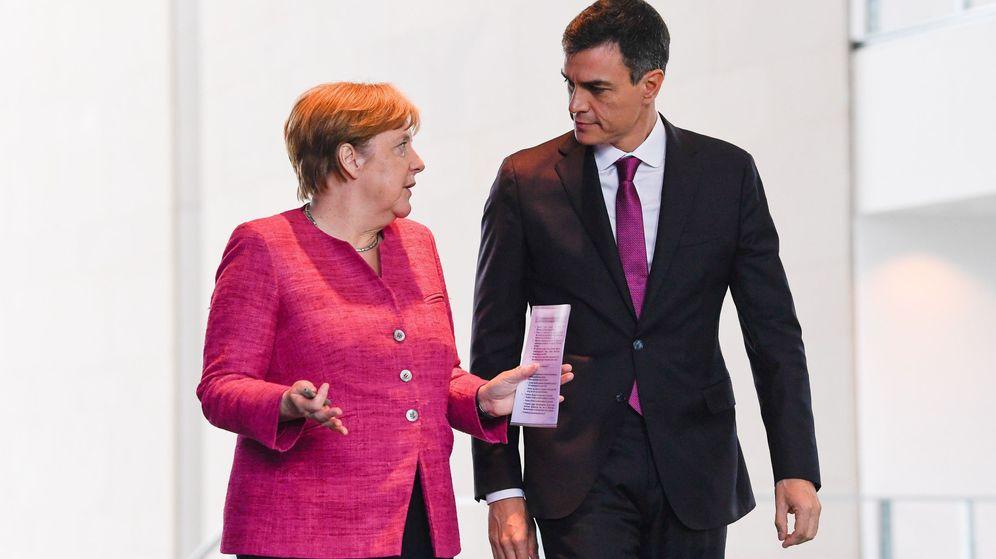 Foto: El presidente del Gobierno español, Pedro Sánchez, de visita en Berlín. (EFE)
