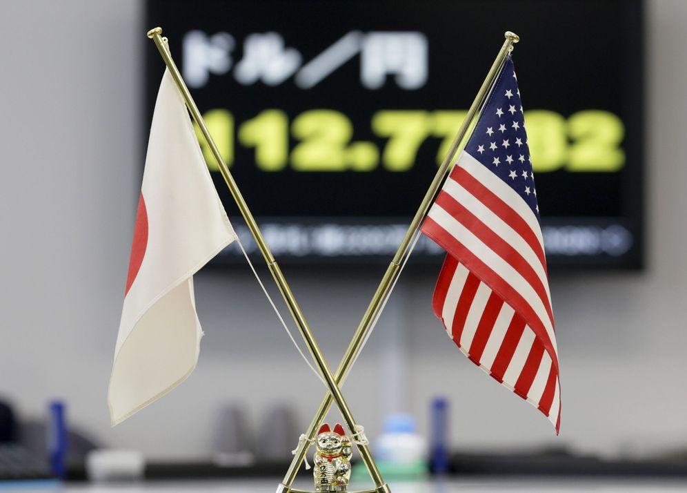 Foto: Caídas en la bolsa de Tokio, arrastrada por el proteccionismo decretado por el presidente Trump, el pasado 24 de enero de 2017 (EFE)