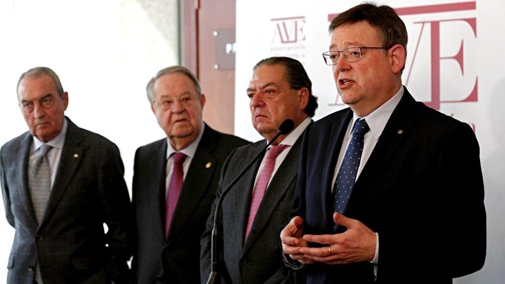 La gran empresa valenciana respalda a Puig frente a Compromís y Podemos