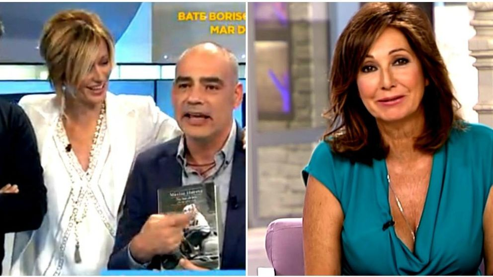 Màxim Huerta 'traiciona' a Ana Rosa Quintana (y bromea con Susanna Griso)