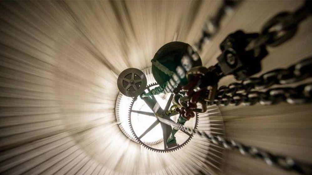 Foto: El reloj que mide el tiempo en largos periodos. (The Long Foundation)