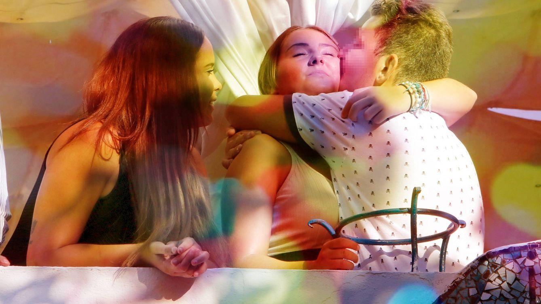 Foto: Gloria Camila, Rocío Flores y su hermano David en un fotomontaje realizado en Vanitatis