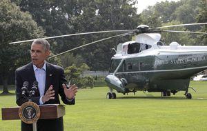 Obama pide tiempo para sofocar a los bárbaros del Estado Islámico