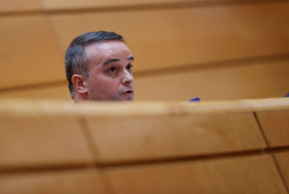 Foto: Iván Redondo, director del Gabinete de la Presidencia del Gobierno, este 25 de junio en la Comisión Mixta de Seguridad Nacional, en el Senado. (EFE)
