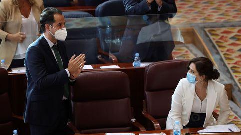 El virus tumba la moción, aplaza la crisis de Gobierno de Ayuso y deja tocado a Gabilondo