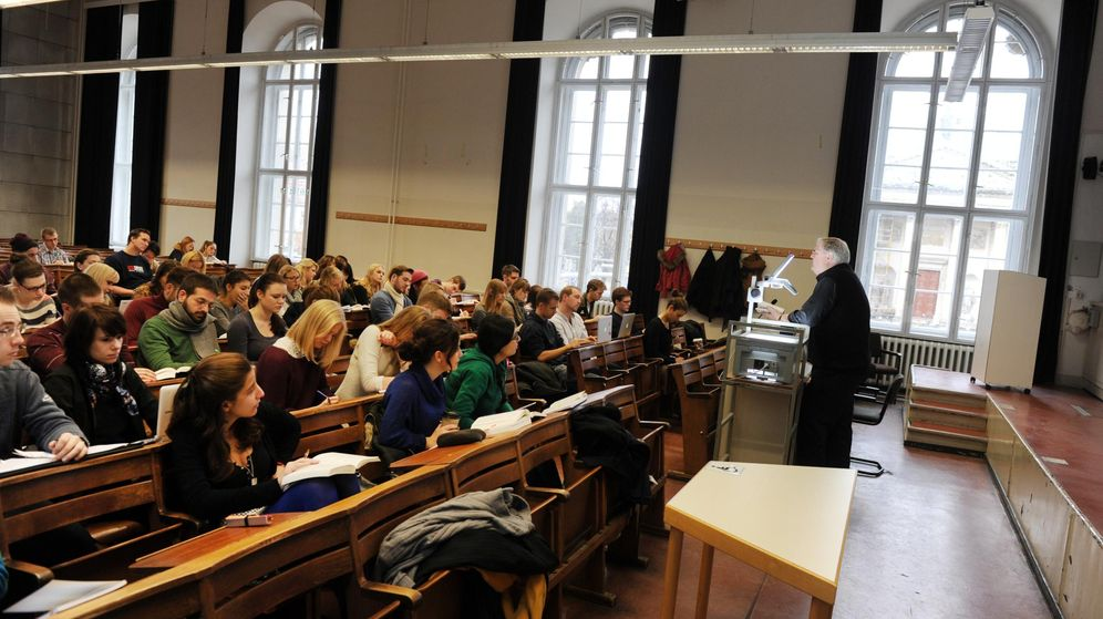 Foto: Aula de la Universidad Humboldt en Berlín. (Jens Kalaene/Corbis)