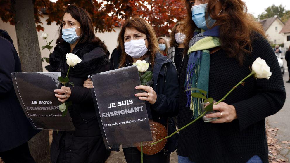 Reconstruyendo la decapitación de un profesor francés