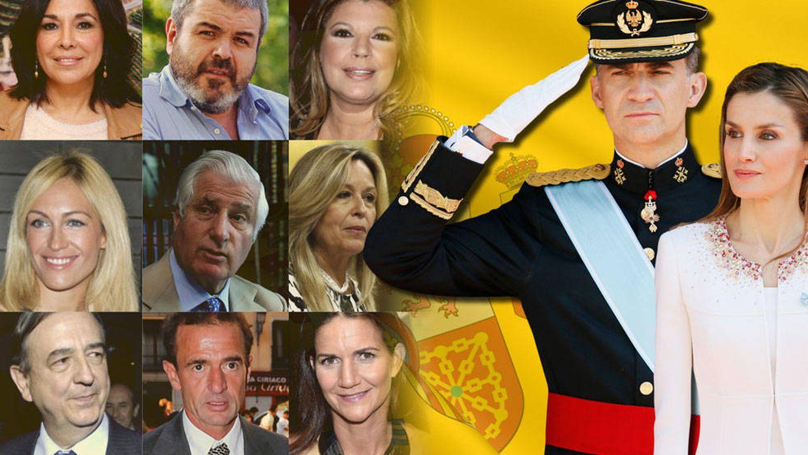 Familia real espa ola 20 rostros conocidos de espa a - Casa de los reyes de espana ...
