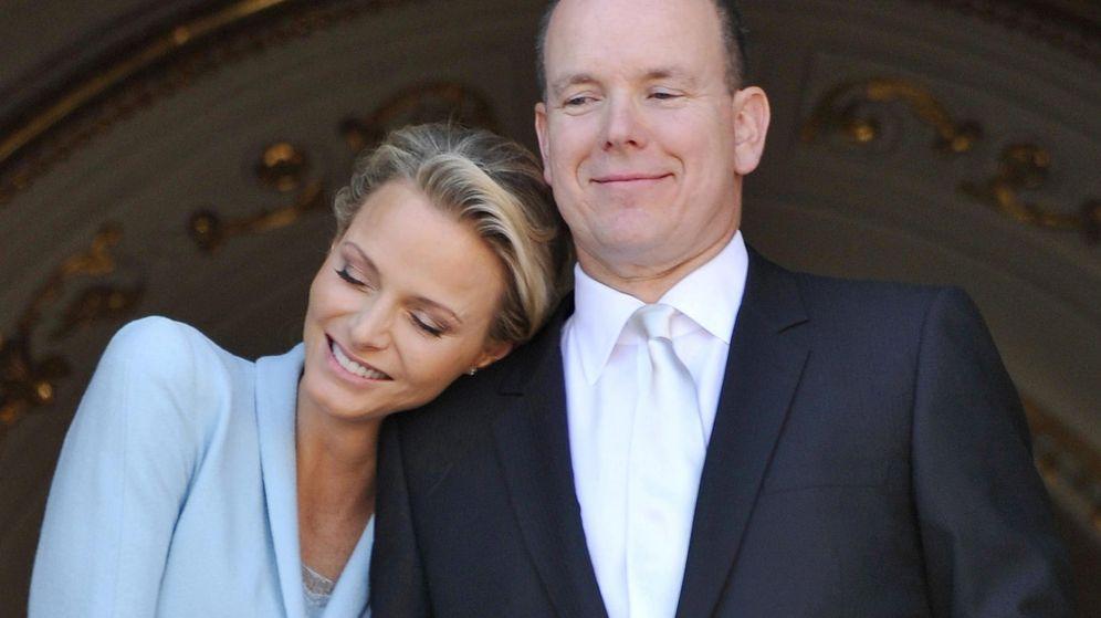 Foto: La boda civil de Alberto y Charlène de Mónaco. (EFE)