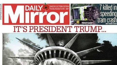 La prensa internacional, sorprendida por la victoria de Trump