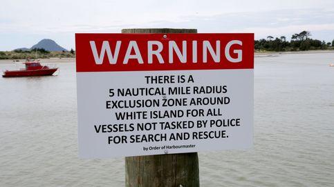 Así fueron las labores de rescate tras la erupción volcánica en Nueva Zelanda