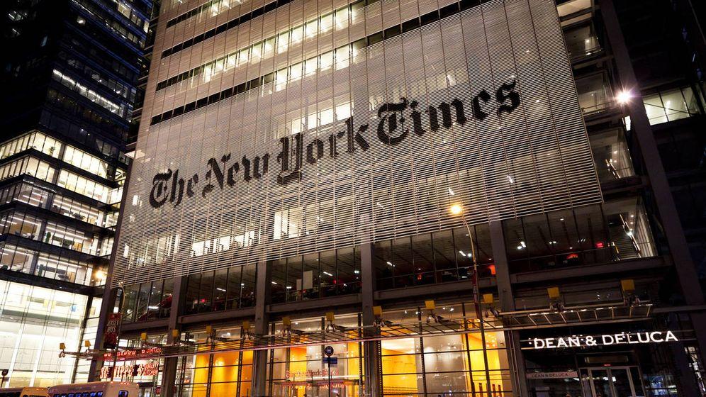 Foto: Sede de 'The New York Times', en el corazón de Nueva York. (iStock)
