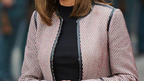 La reina Letizia echa mano de sus dos favoritos en su último acto