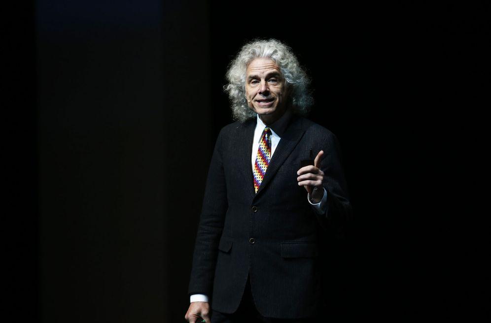 Foto: Steven Pinker, profesor de Harvard, autor de éxito y optimista. (Francisco Guasco/Efe)