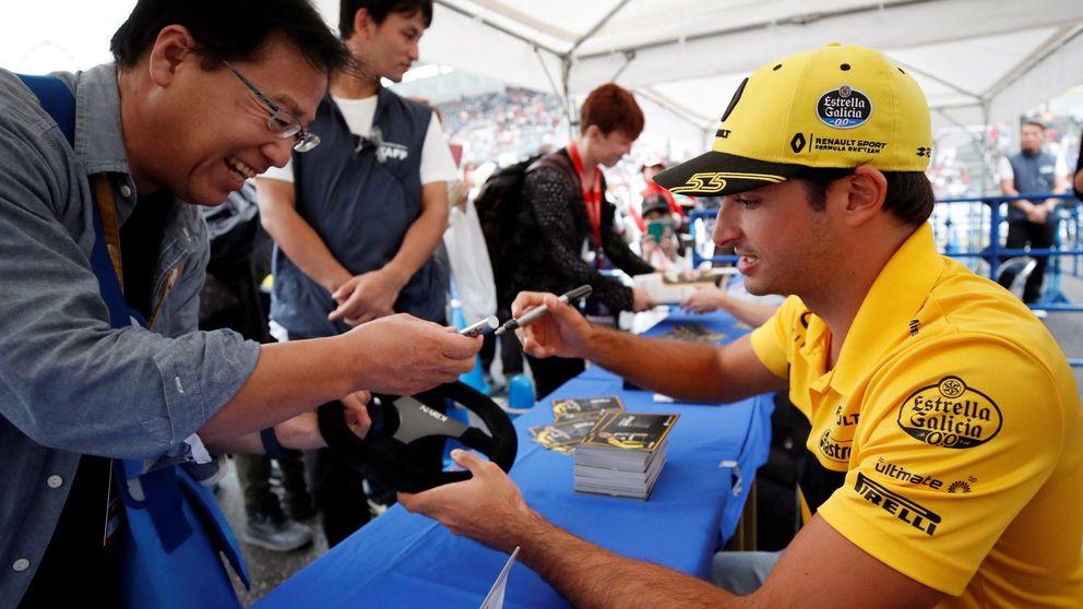 La mayor felicidad de Carlos Sainz: el paso de correr en un parking a un circuito