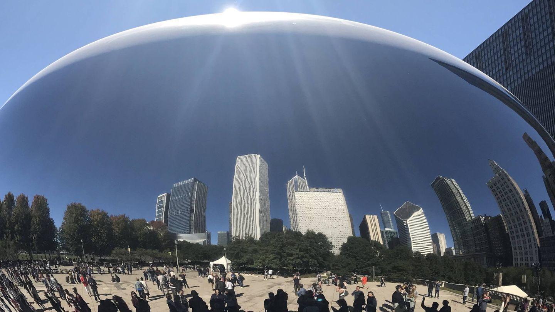 Espejo cóncavo de Chicago. (Javier Brandoli)