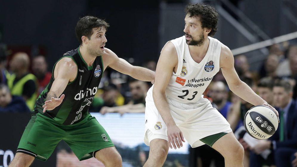 Foto: Nico Laprovittola y Sergio Llull, ¿compañeros la próxima temporada? (ACB Photo)