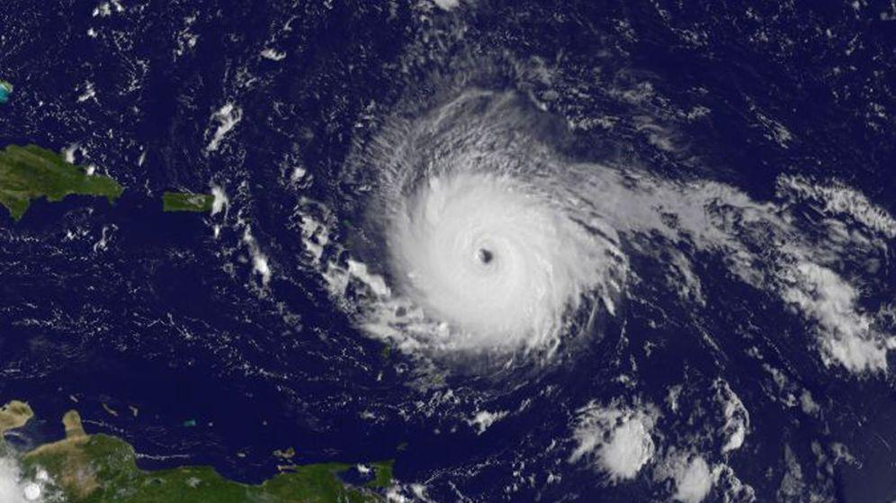 Foto: Fotografía cedida por la NASA del huracán Irma. (EFE)
