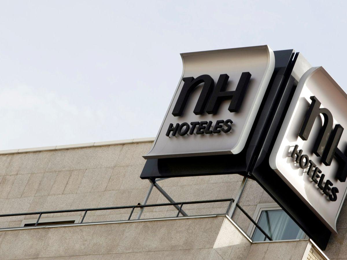 Foto: Logo de NH Hoteles (Reuters)