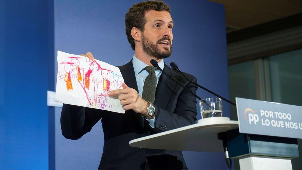 Casado refuerza el mensaje del voto útil contra Sánchez y obvia el peligro de Vox