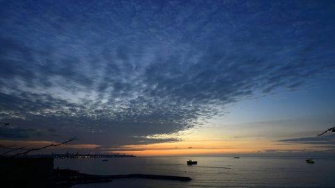 Cae la tarde en el Mediterráneo