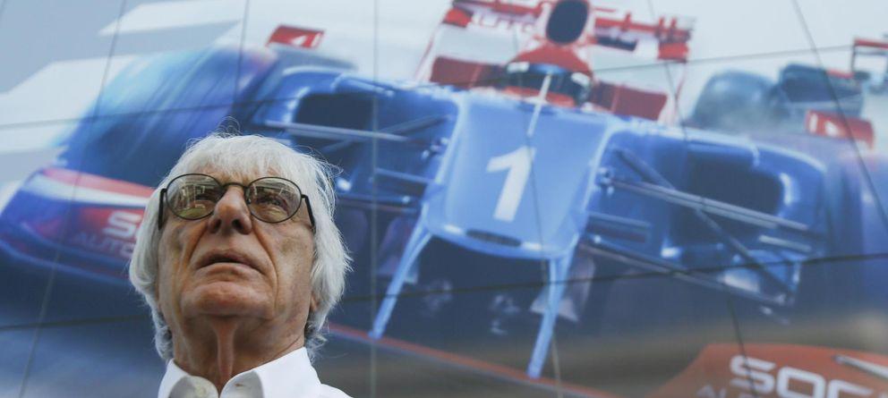 Foto: Bernie Ecclestone tiene pensado cambiar el modelo de la F1, pero sin saber cómo.