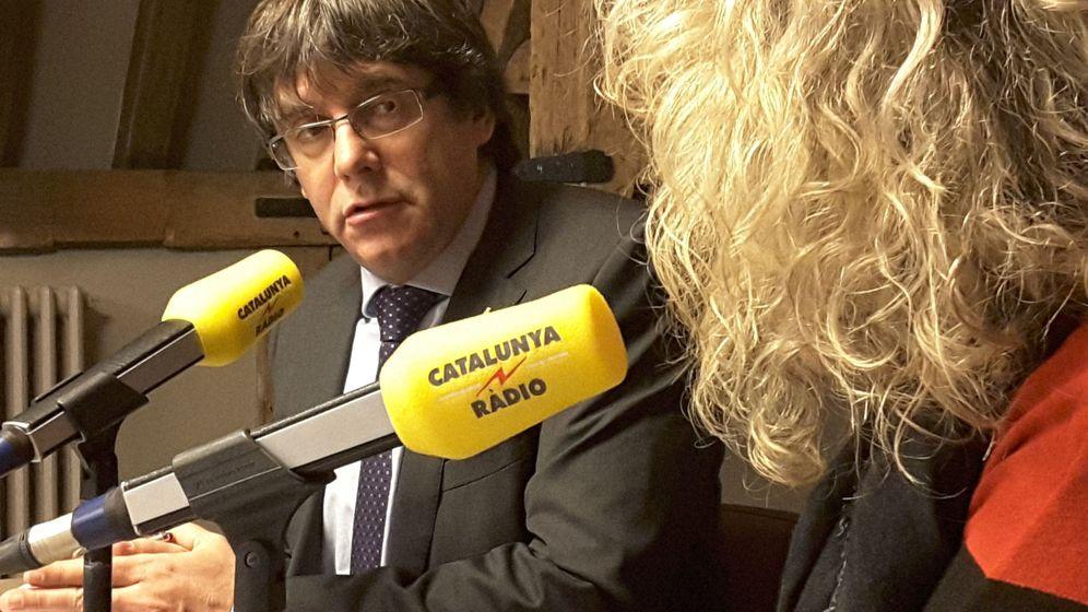 Foto: Fotografía facilitada por Catalunya Ràdio del presidente de la Generalitat cesado Carles Puigdemont durante una entrevista hace dos semanas. (EFE)