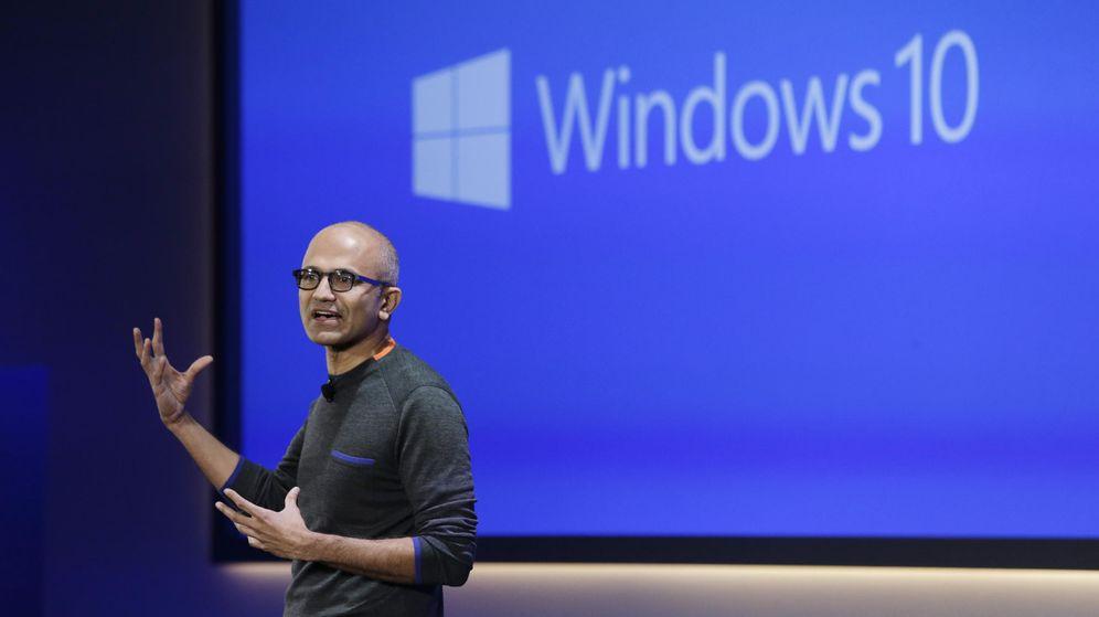 Foto: El CEO de Microsoft, Satya Nadella (Elaine Thompson)