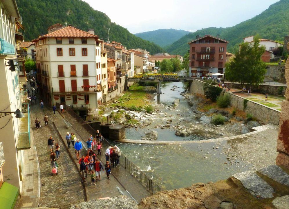 Foto:  El Ter a su paso por Camprodon (Marina del Castell / Flickr)