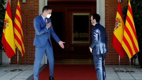 Sánchez y Aragonès acuerdan reactivar la mesa de diálogo en Barcelona tras la Diada
