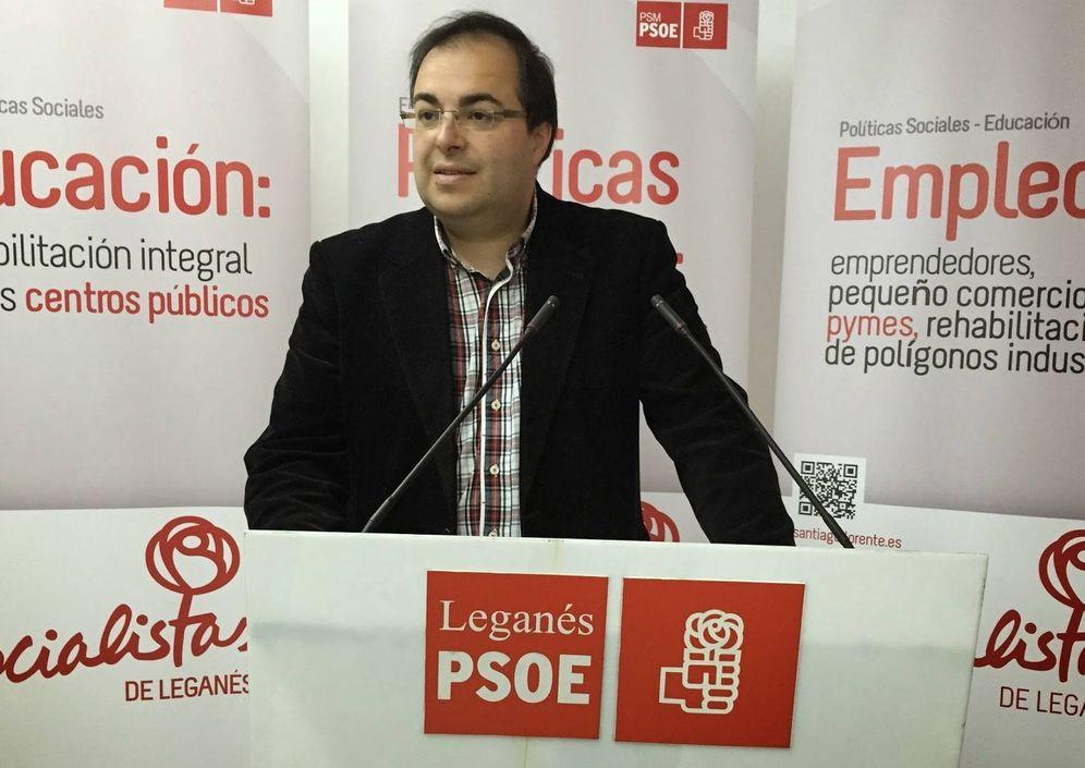 Foto: Santiago Llorente, alcalde de Leganés.
