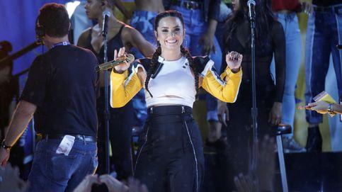 Lovato sorprende en la televisión