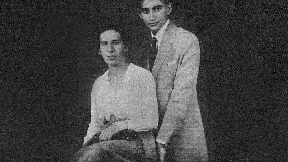 Foto: Franz Kafka y Felice Bauer