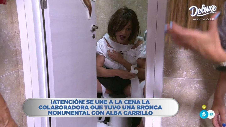 Josep Ferré imitando a Patiño. (Telecinco).
