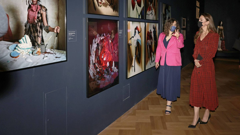 Kate Middleton, este miércoles en el Victoria & Albert Museum. (PA)