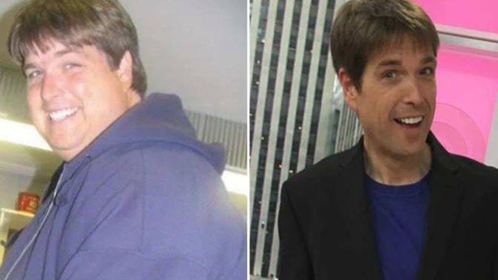 Trató el azúcar como una droga: así perdió este hombre 130 kilos