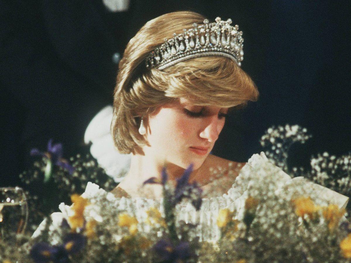 Foto: La princesa Diana, en una imagen de los 80. (Cordon Press)
