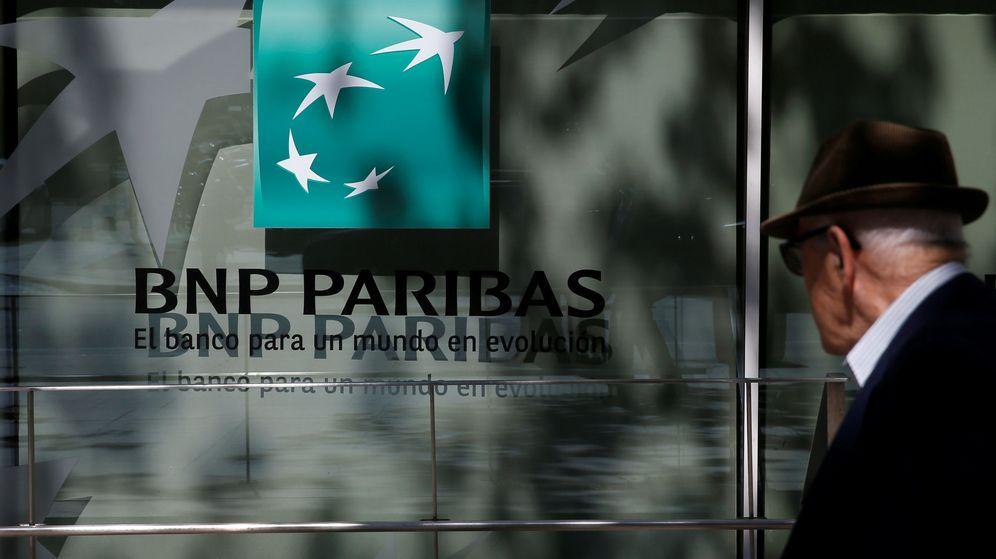 Foto: Oficina de BNP Paribas en Madrid. (Reuters)