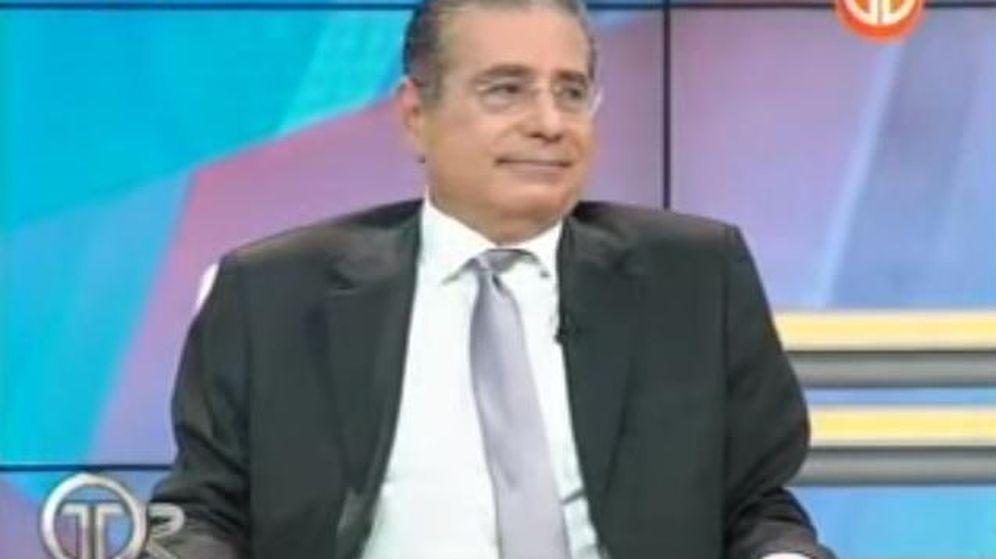 Foto: El abogado Ramón Fonseca Mora durante la entrevista. (YouTube)