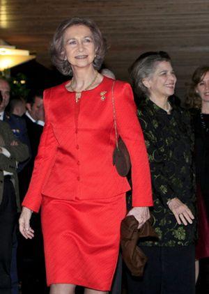 Foto: El tío Leandro defiende a la Reina Sofía