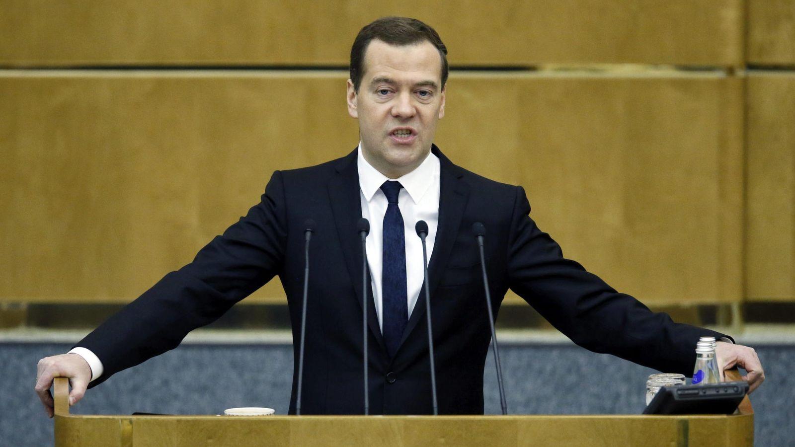 Foto: El primer ministro ruso, Dmitri Medvédev (Efe)