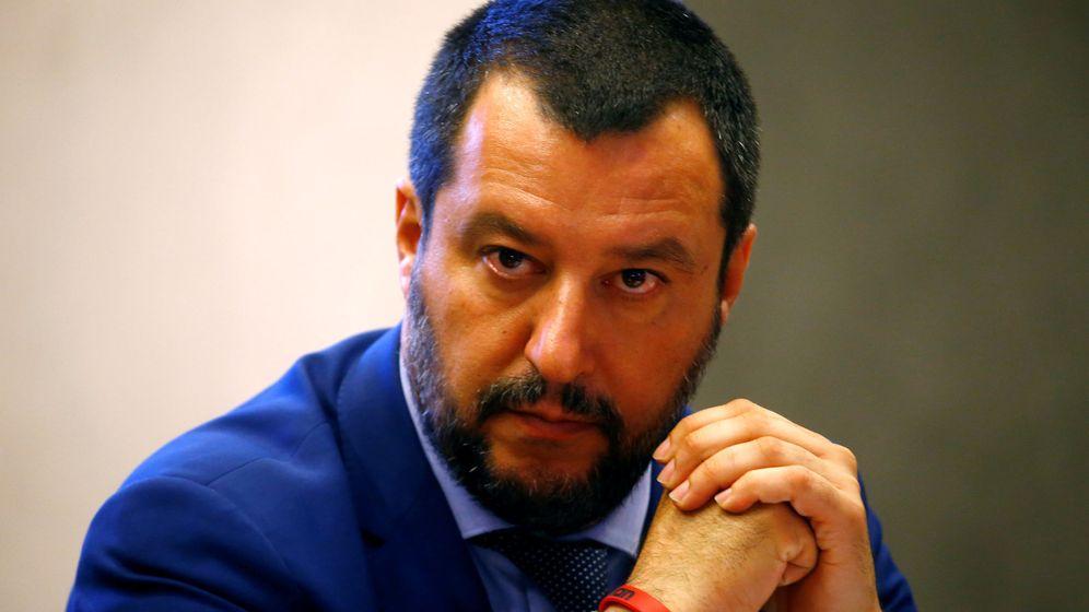 Foto: Matteo Salvini, una de las caras más visibles de la ultra derecha en Europa (REUTERS)