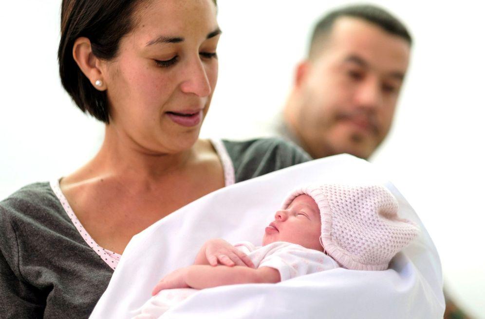 Foto: El primer nacimiento registrado en el año 2019. (EFE)