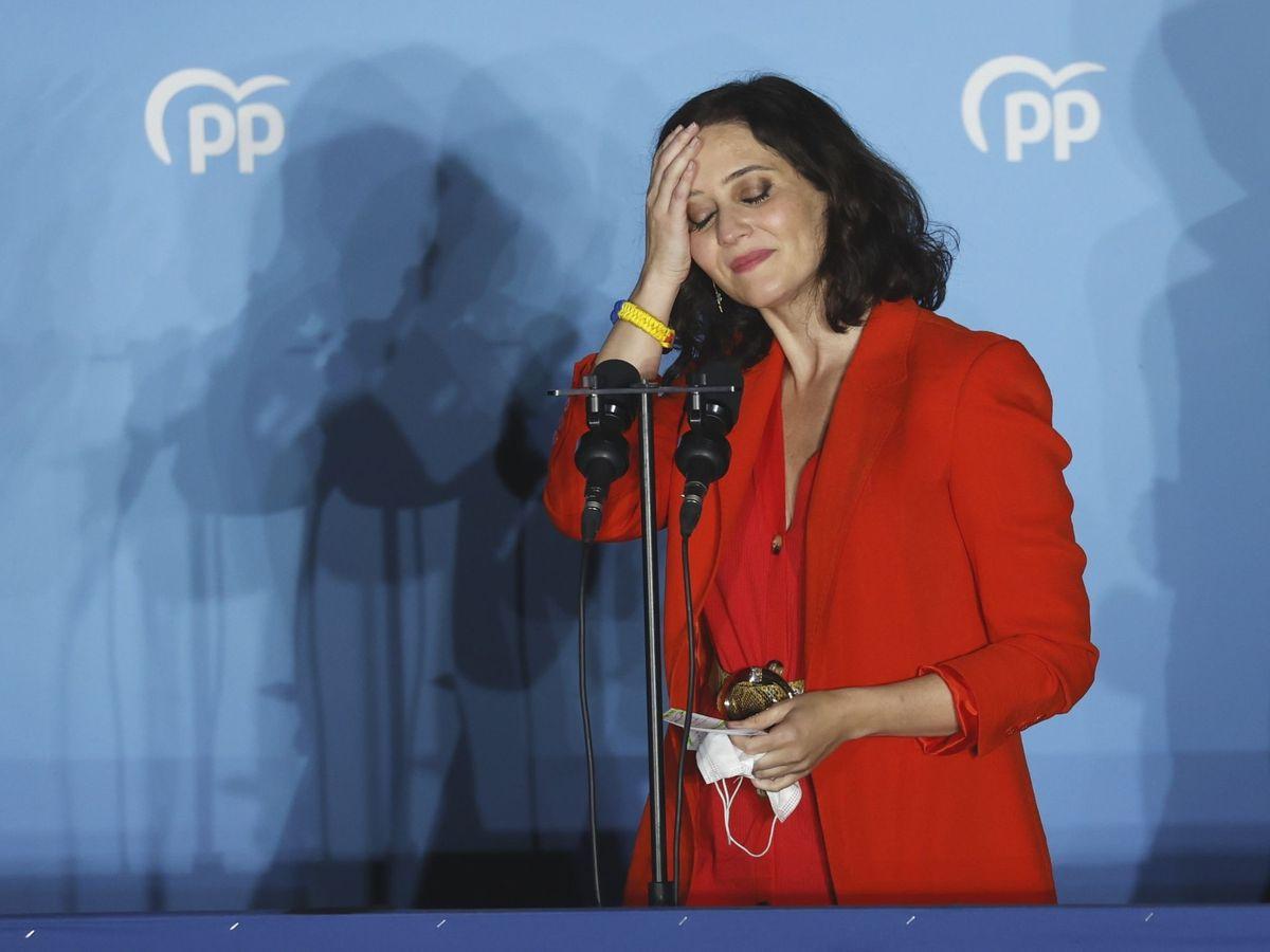 Foto:  La presidenta de la Comunidad de Madrid y candidata por el PP a la reelección, Isabel Díaz Ayuso. (EFE)